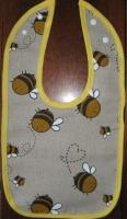 bitutės (linas/medvilnė, su spaudėm)